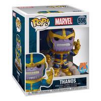 Boneco Funko Pop Marvel deluxe Thanos ex 556