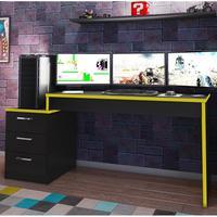 Mesa Gamer Móveis Leão DRX 5000