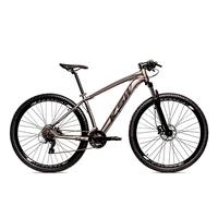 Bicicleta Alumínio Ksw Shimano Altus 24 Vel Freio Hidráulico E Cassete Krw19 - 21´´ - Grafite/preto Fosco