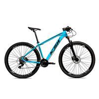 Bicicleta Alumínio Ksw Shimano Altus 24 Vel Freio Hidráulico E Suspensão Com Trava Krw18 - 15.5'' - Azul/preto