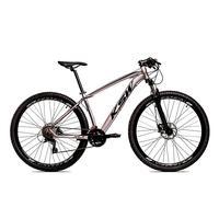 Bicicleta Alum 29 Ksw Cambios Gta 24 Vel A Disco Ltx Hidráulica - 17´´ - Prata/preto