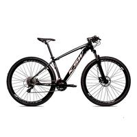 Bicicleta Alum 29 Ksw Cambios Gta 27 Vel Freio Disco Hidráulica - 19'' - Preto/prata