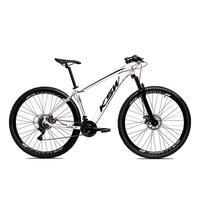 Bicicleta Alumínio Aro 29 Ksw Shimano Tz 24 Vel Ltx Krw20 - 21´´ - Branco/preto