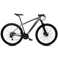 Bicicleta Aro 29 Dropp Z1x 21v Shimano, Susp E Freio A Disco - Cinza/preto - 17´´ - 17´´