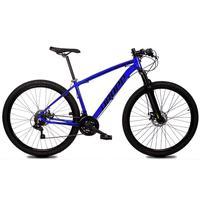 Bicicleta Aro 29 Dropp Z1x 21v Shimano, Susp E Freio A Disco - Azul/preto - 17´´ - 17´´