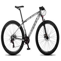 Bicicleta Aro 29 Dropp Rs1 Pro 21v Tourney Freio Disco/trava - Preto/branco - 15