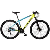 Bicicleta Aro 29 Dropp Z7x 21v Shimano, Suspen E Freio Disco - Azul/amarelo E Preto - 15´´ - 15´´