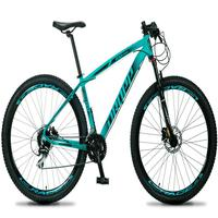 Bicicleta Aro 29 Dropp Rs1 Pro 24v Acera Freio Hidra E Trava - Verde/preto - 17´´ - 17´´
