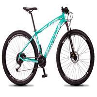 Bicicleta Aro 29 Dropp Rs1 Pro 27v Alivio, Fr. Hidra E Trava - Verde/branco - 17´´ - 17´´