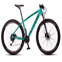 Bicicleta Aro 29 Dropp Rs1 Pro 27v Alivio, Fr. Hidra E Trava - Verde/preto - 15