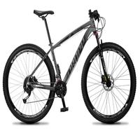 Bicicleta Aro 29 Dropp Rs1 Pro 27v Alivio, Fr. Hidra E Trava - Cinza/preto - 19''