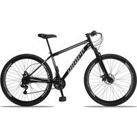 Bicicleta Aro 29 Dropp Sport 21v Suspensão E Freio A Disco - Preto/cinza - 17''