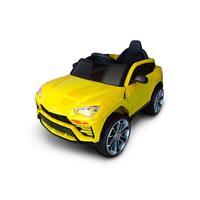 Mini Carro Eletrico Infantil 12v Amarelo C/ Controle E Som Bw029am Importway