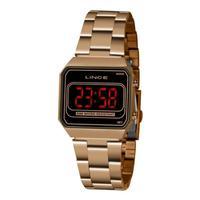 Relógio Lince Digital Feminino Rose Mdr4645l Pxrx