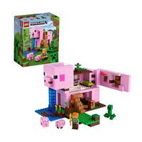Lego Minecraft A Casa Do Porco 490 Peças - 21170