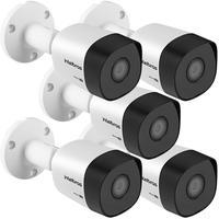 Kit 5 Câmeras Multi Hd 1 Megapixel 3.6mm 20m Vhd 3120 B G6 Intelbras