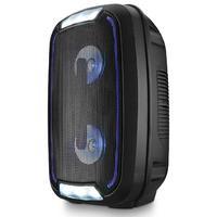 Caixa De Som Mini Torre Party Tws Bluetooth 200w Rms Sp336 Preto
