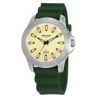 Relógio Seculus Masculino Puls Silicone Verde 20966g0svnu3