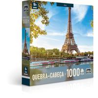 Quebra Cabeça 1000 Peças Paris E Roma Sortido