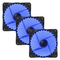 Fan Cooler 32 Led Azul Gamemax Galeforce Gmx-gf12b 3-fan