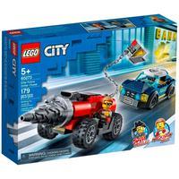 Lego City - Polícia De Elite: Perseguição De Carro Perfurador - 60273
