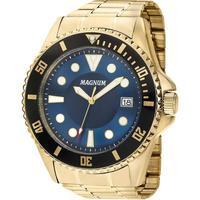 Relógio Masculino Magnum Analógico Ma33059a - Dourado