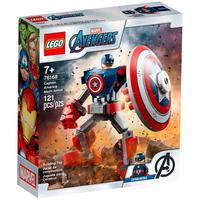 Lego Super Heroes Marvel - Armadura Robô Do Capitão América - 76168