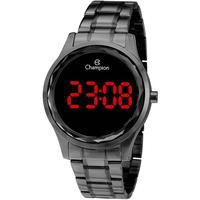 Relógio Feminino Digital Champion Ch48019d - Preto