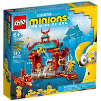 Lego Minions - Combate De Kung-fu Dos Minions - 75550