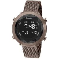Relógio Feminino Champion Digital Ch48028r - Marrom