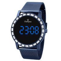 Relógio Feminino Champion Digital Ch40160a - Azul