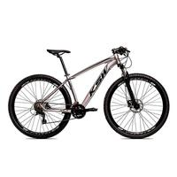 Bicicleta Aro 29 Ksw 24 Marchas Freio Hidráulico E Trava Cor: grafite/preto tamanho Do Quadro:19