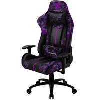 Cadeira Gamer Office Giratória Com Elevação A Gás Bc3 Camuflado Roxo Ultra Violet - Thunderx3