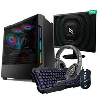 Kit - Pc Gamer Start Nli82879 Amd 320ge 8gb vega 3 Integrado 1tb + Monitor 19,5