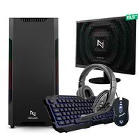 Kit - Pc Gamer Start Nli82884 Amd 320ge 16gb vega 3 Integrado Ssd 120gb + Monitor 19.5