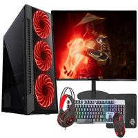"Pc Gamer Completo Fácil Intel Core I7 3.4ghz 8gb Ssd 240gb Gtx 750 4gb Monitor 21"" Hdmi Led Teclado E Mouse Gamer"