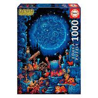 Puzzle 1000 Peças O Astrólogo Neon - Educa - Importado