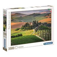 Puzzle 1000 Peças Toscana Apaixonante - Clementoni - Importado
