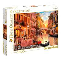 Puzzle 1500 Peças Veneza Apaixonante - Clementoni