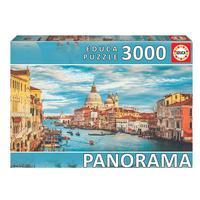 Puzzle 3000 Peças Panorama Canal De Veneza Educa