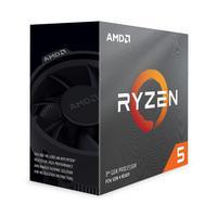 Processador Ryzen 5 AM4 3600, 3.6 GHz, Cache 32 MB, Sem Gráfico, AMD Box