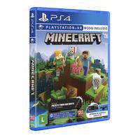 Jogo Minecraft Starter Collection Ps4