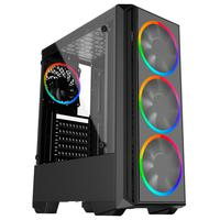 Pc Gamer Playnow Amd Ryzen 3 2200g 8gb Ddr4 2666mhz placa De Vídeo Radeon Vega 8 Hd 2tb 500w Skill