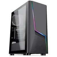 Pc Gamer Intel 10a Geração Core I3 10100f, Radeon Rx 550 4gb, 8gb Ddr4 3000mhz, Ssd 480gb, 500w 80 Plus, Skill Extreme