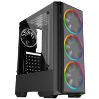 Pc Gamer Intel Geração 10, Core I5 10400f, Radeon Rx 550 4gb, 8gb Ddr4 2666mhz, Hd 1tb, Ssd 120gb, 500w, Skill Pcx