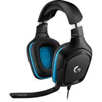 Headset Gamer Logitech G432, 7.1 Som Surround, Drivers 50mm - 981-000769