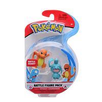 Pokemon - 2 Figuras De Batalha - Charmander E Wynaut